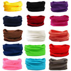 Multi-use Tube Scarf Bandana Head Face Mask Neck Gaiter Snood Headwear Beanie