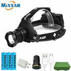 18650 Rechargeable/Powerful USB Headlamp LED 300000lm Headlight Head Torch/lamp