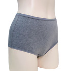 High Waist Cotton Spandex Comfy Panties 5ea Pack Made in Korea