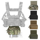 Krydex Tactical Sack Drop Dump Pouch Abdominal Carrying Kit Bag For Chest Rig