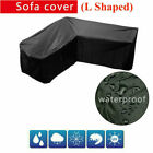 L Shape Garden Furniture Cover Square Waterproof Heavy Duty Outdoor Patio Rattan