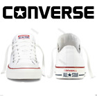 Converse All Star Low Top Trainers Women Men Unisex Chuck Taylor Shoes White UK