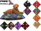 Dog Bed Zipped cover only Washable Removable Extra Large Large poly cotton Pet