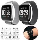 Bluetooth Smart Watch Health Monitor Sport Wristband for Android Stainless Steel android bluetooth Featured for health monitor smart sport stainless watch wristband