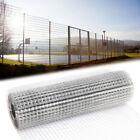 Welded Wire Mesh Galvanised Fence Rabbit Aviary Hutch Chicken Run Pen Cage Pets