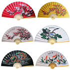 "44""/62"" Wide Handcrafted Extra Large Bamboo Wall Hanging Decorative Folding Fan"