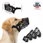 Dog Basket Cage Muzzle with Adjustable Straps Strong Flexible Heavy Duty Plastic
