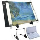 A5/A4 LED Light Pad for Diamond Painting USB Powered Light Board Kit with Stand