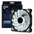 lot 5 Vetroo 120mm 15LEDs Cooling Fan for Computer PC Cases Silence Radiators
