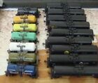 Kyпить N scale assorted tank cars - Atlas & others w/ MTL & compatible trucks/couplers на еВаy.соm