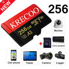 New 256GB Micro Memory SD Card 4K TF Class 10 for Smartphones  Tablets