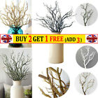 Artificial False Plant Flowers Wedding Party Home Decor Fake Dried Tree Branches