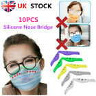 10Pcs Anti Fog Silicone Nose Bridge Mask Holder Prevent Eye Glasses from Fogging