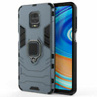 Rugged Armor Ring Holder Kickstand Case Cover For Xiaomi Redmi Note 9S 9 Pro Max