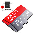 256GB Micro Memory SD Card 275MB/S Class10 Flash TF Card with Adapter Fr Phone