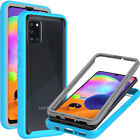 For Samsung Galaxy A31 Case Full Body Slim Military Clear Shockproof Phone Cover