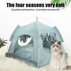 Pet Bed Cat Dog Soft Nest Kennel Puppy Cave Warm Basket House Sleepin