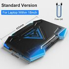 Portable Gaming PC Adjustable Laptop Cooler Dual USB Laptop Cooling Pad Support