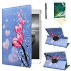 For iPad 8th 7th Generation 10.2 inch 360 Rotating PU Leather Smart Stand Case