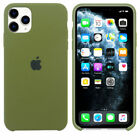 Original Silicone/Leather Case For iPhone 12 Mini 11 Pro Max Genuine OEM Cover