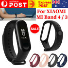 For Xiaomi Mi Band 4 3 Silicone Wrist Strap Replacement Watchband Smart Band D7
