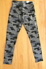 Justice Girls' Size 7 & 8 Camo Full Length Legging - Wide Comfort Waistband