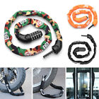 5 Digit BICYCLE LOCK CHAIN Bike Code Combination 1m Metre Strong Secure Metal