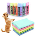 Useful Rapid Water Absorption Pet Dog Cat Bath Towel PVA Soft Cleaning Wipes