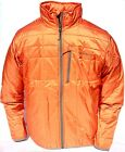 Simms Fall Run Men's Jacket Fishing Upland Hunting Orange Primaloft Insulated