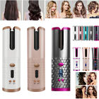 Cordless Wireless Auto Rotating Hair Curler LCD Hair Waver Curling Machine Comb