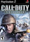 .PS2.' | '.Call Of Duty Finest Hour.