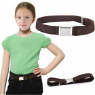 2pcs Kids Belt Elastic Adjustable Children Solid Stretch Waist Belt Waistband