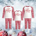Personalised Matching Family Red Christmas Inspired Design Pyjama Set - Xmas PJs