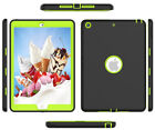 "iPad 8th Generation Case 10.2""  Kids Silicone Shock Case Built-in Screen Protect"
