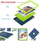 """iPad 8th Generation Case 10.2""""  Kids Silicone Shock Case Built-in Screen Protect"""