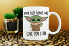 Yoda Best Bonus Dad Mug Best Bonus Dad Ever Baby Yoda Mug Funny Gift For Bonus