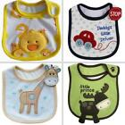 Infant Cute Cartoon Saliva Towel Waterproof AntifoulingToddler Infant Baby Bib