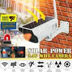 HD Outdoor Wireless Solar Powered IP Camera WiFi Security Night Vision Smart Cam
