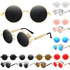 Vintage Retro Steampunk Sunglasses Goggles Classic Round Mirror Eyewears Glasses