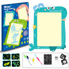 2-in-1 Kids Luminous Drawing Board with LED Drawing Pen for Kids Sketch Pad Gift