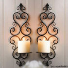 Au Hanging Wall Wrought Iron Wedding Party Home Decor Candle Holder