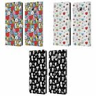 OFFICIAL BT21 LINE FRIENDS BASIC PATTERNS LEATHER BOOK CASE FOR SAMSUNG PHONES 3