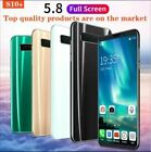"Unlocked Android Smart Phone 5.8"" S10+ 8.0 Hd Dual Sim 4g+64g Mobile Phone"