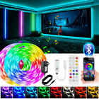 65Ft 50Ft 5M10m LED Strip Lights 5050 Music Sync Bluetooth Remote Room Light Kit
