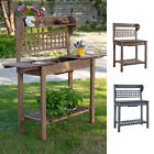 Outsunny Wooden Garden Potting Table Bench With Clapboard Outdoor