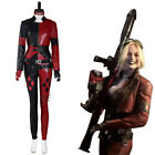 Suicide Squad Harley Quinn Cosplay Costume Women Vest Pants Outfits Halloween