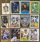 New York Mets Signed Cards YOU PICK Autographs Free Ship M-Z