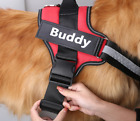 Personalized Custom patch Pet Harness Vest Small large Dog Non Pull Reflective
