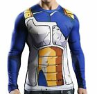 Super Saiyan Son Gokou Dragon Ball Z Halloween Cosplay Compression T-Shirt Tee