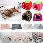 Pet Puppy Dog Soft Fluffy Blanket Bed Mat Mattress Flannel Crate Igloo Kennel